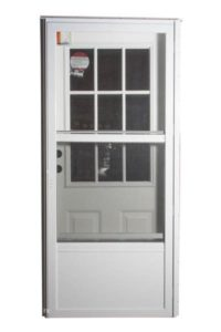COMBO DOOR WITH COTTAGE WINDOW
