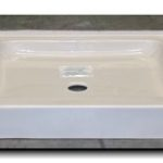 32x32 ABS or Fiberglass Shower Pan (White or Bone)