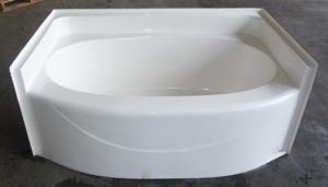 5042RF 60x42 Fiberglass Garden Tub (White Or Bone)
