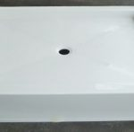 54x42 Fiberglass Shower Pan (White o Bone)