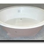 "63"" Round Drop In Tub"