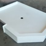 48x66 Fiberglass Luxury Shower Pan (White or Bone)