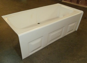 54x27 ABS Tub (LH, RH,CD White or Bone)