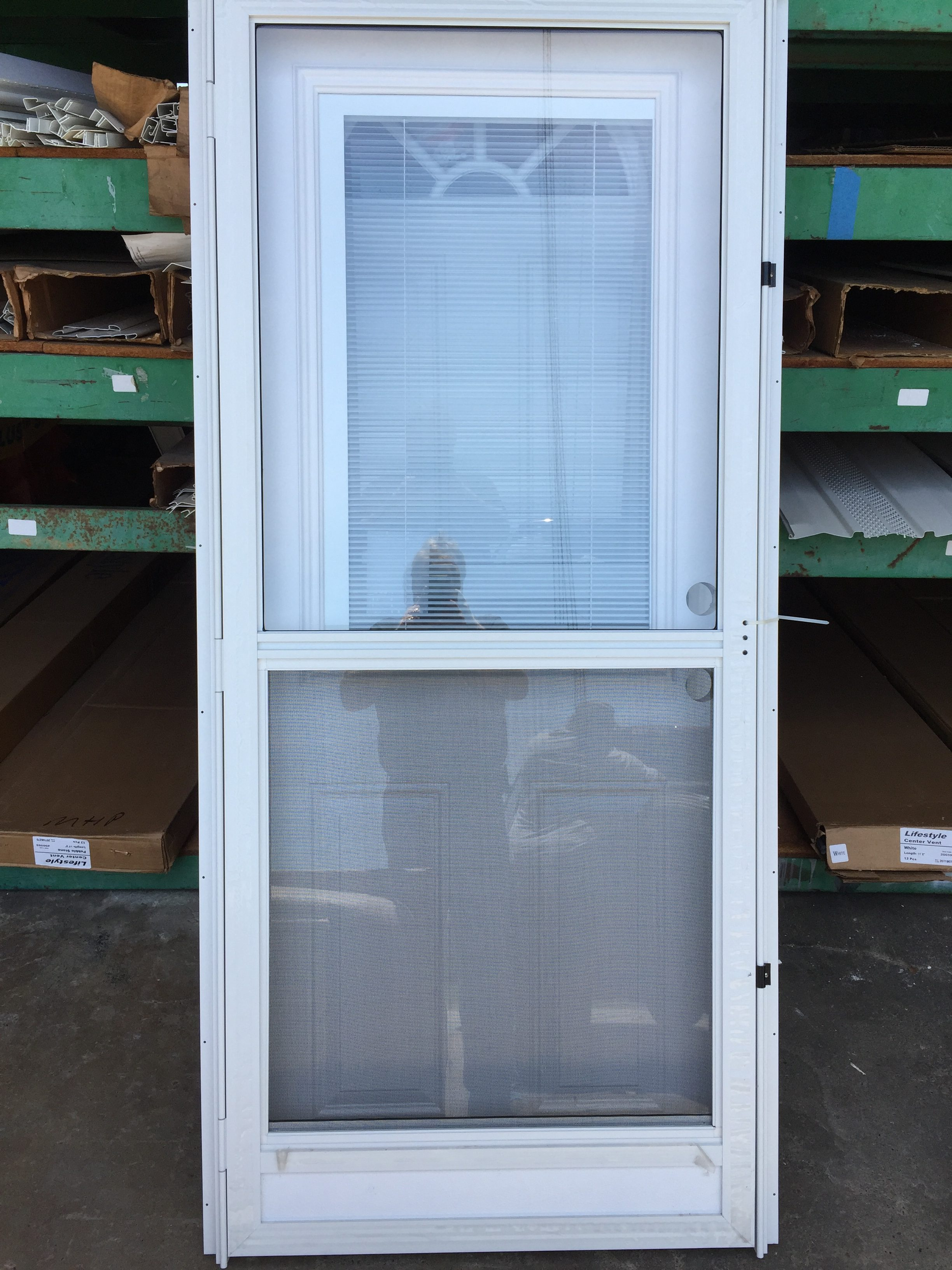 Combo With Mini Blind In Window